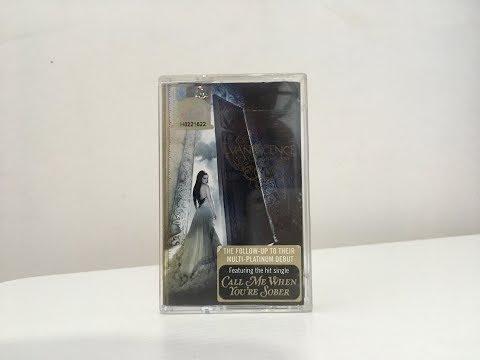 Evanescence - The Open Door Cassette (K7) Unboxing