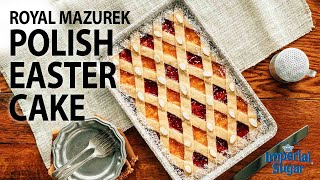 How to Make Royal Mazurek Polish Easter Cake