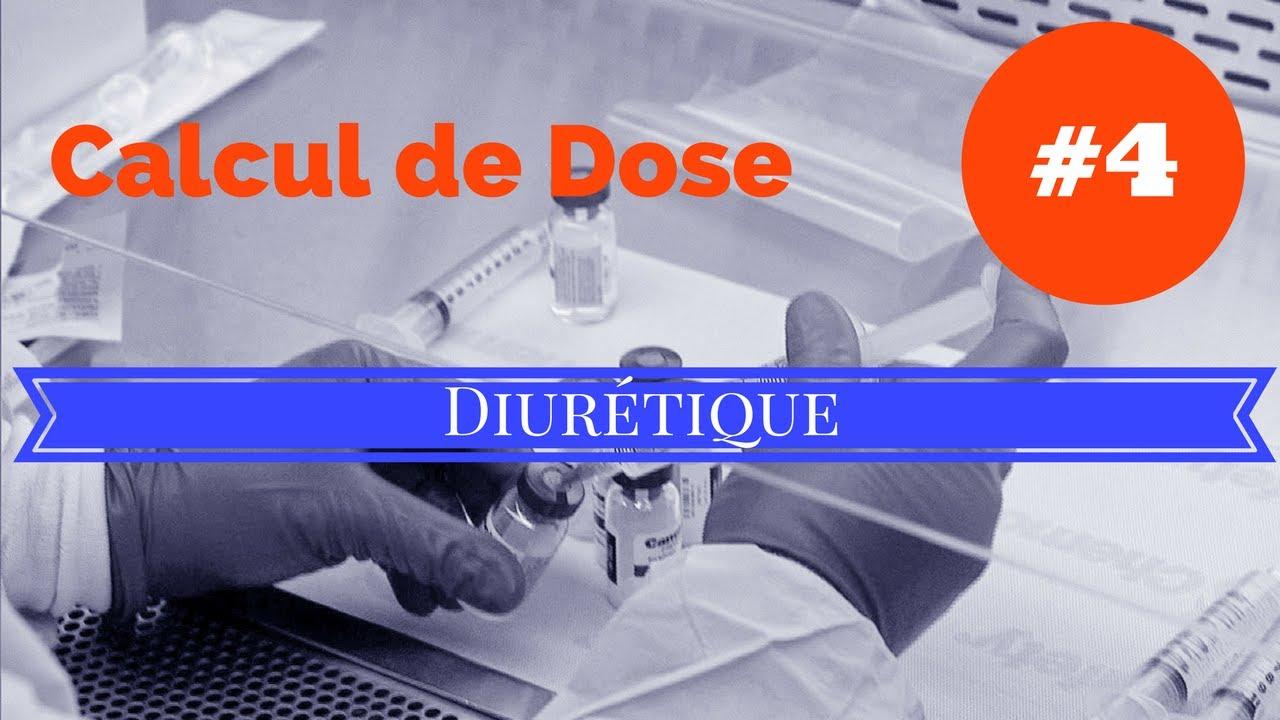 calcul de dose - Exo 4 DIURETIQUE - YouTube
