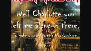 Iron Maiden-Charlotte the Harlot (with lyrics)