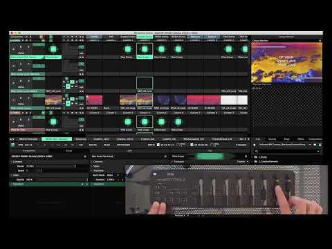 Resolume Arena 5 TouchDesigner Shared Texture t