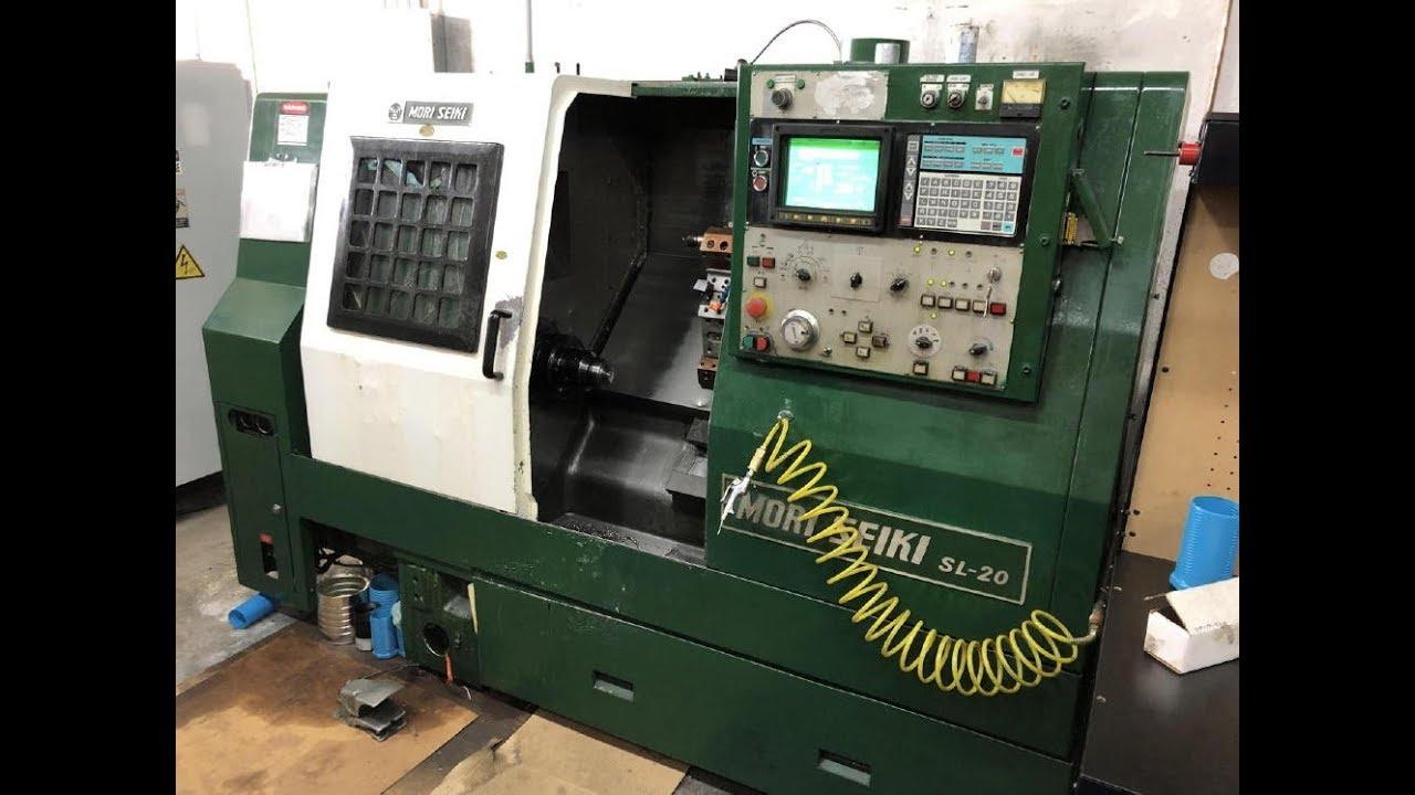 Mori Seiki SL 20 2 Axix CNC Lathe, Serial No 8377 - SOLD