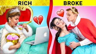 Богатая принцесса VS Бедная принцесса / Сложно быть девушкой