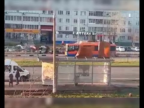 Штормовой ветер атаковал Татарстан