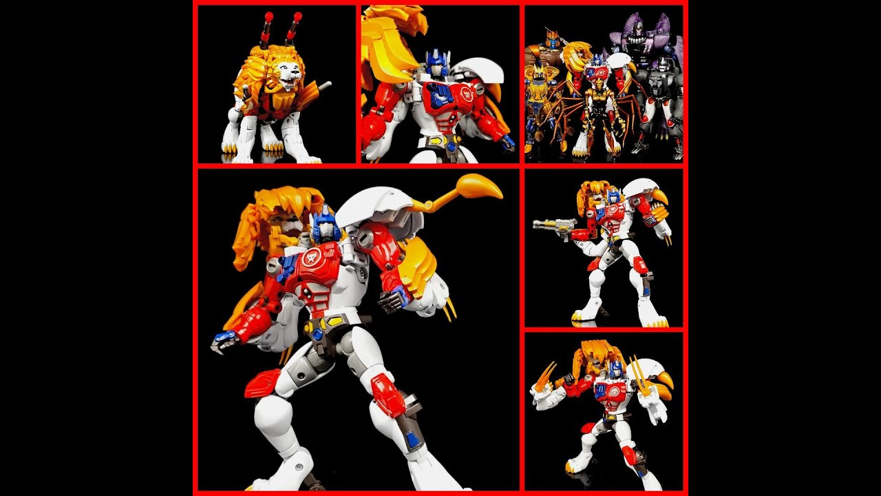 My Review of MP-48 Beast Wars Lio Convoy by Deluxe Baldwin