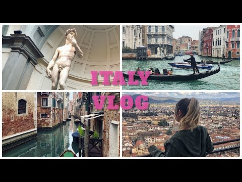 Italy Vlog Part 1   Florence & Venice