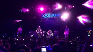Boyce Avenue - Fix You - Z Festival São Paulo 31/08/2013 - Brasil