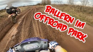 Enduro/Motocross mit CHINA Roller!