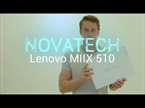 Lenovo Miix 510 - Unboxing & First Impressions