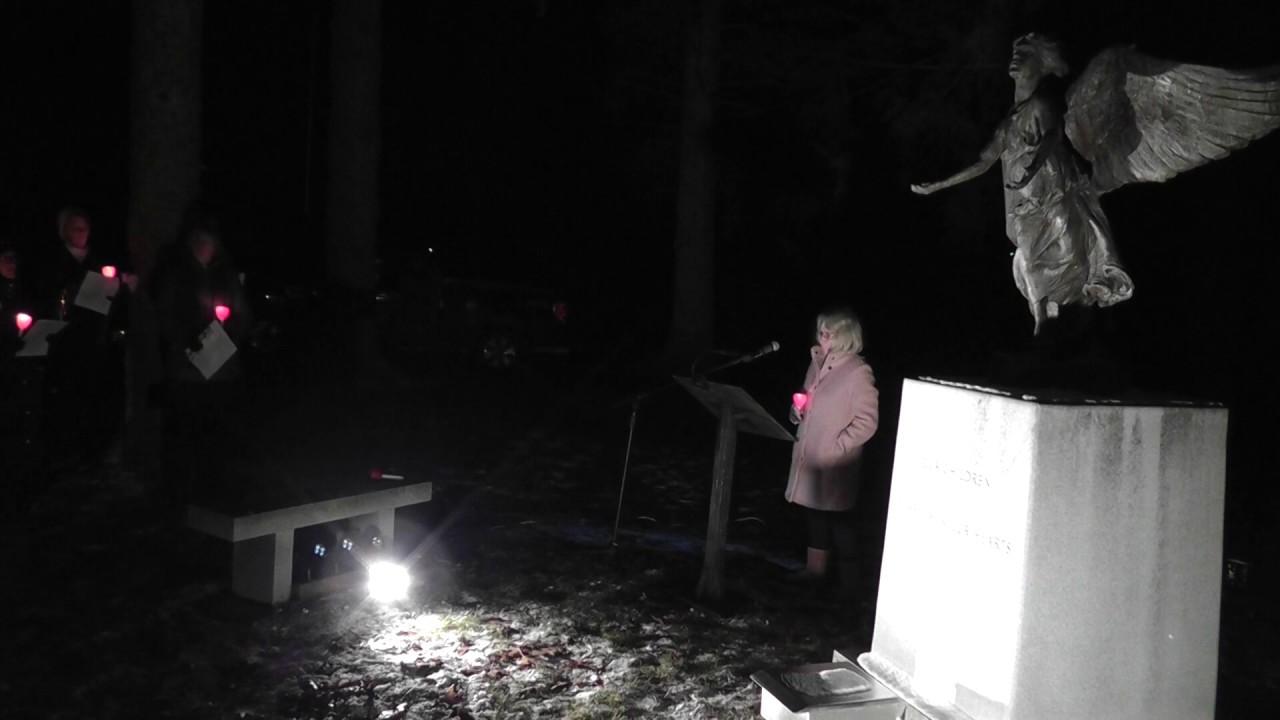 Christmas Box Angel Candlelight Vigil  12-6-18