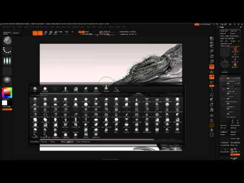 ZBrush tutorial: Create an insectoid alien with DynaMesh | Creative Bloq