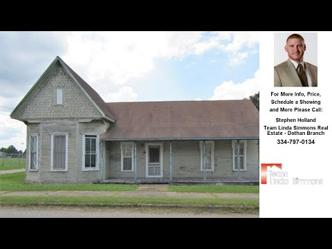 212 TRAWICK STREET, Abbeville, AL Presented by Stephen Holland.