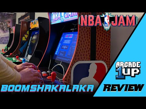 NBA Jam Arcade1UP Review from The Jedi Knights Watch