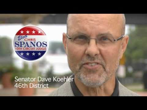 Citizens support Chris Spanos for 10th Circuit Judge