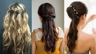 Hairstyles For Long Hair & Hairstyles Tutorials Compilation(part-4)
