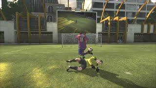 FIFA 08 (( Ronaldinho / trickshoot ))