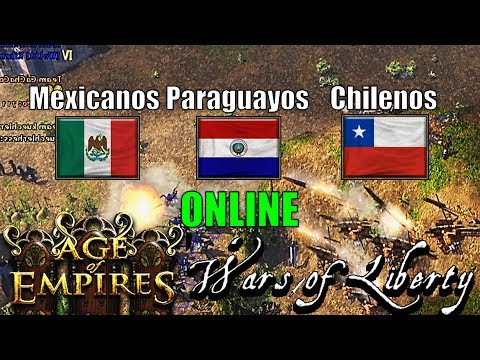 Free for All México Paraguay Chile Age of Empires 3 Wars of Liberty ESO multiplayer online