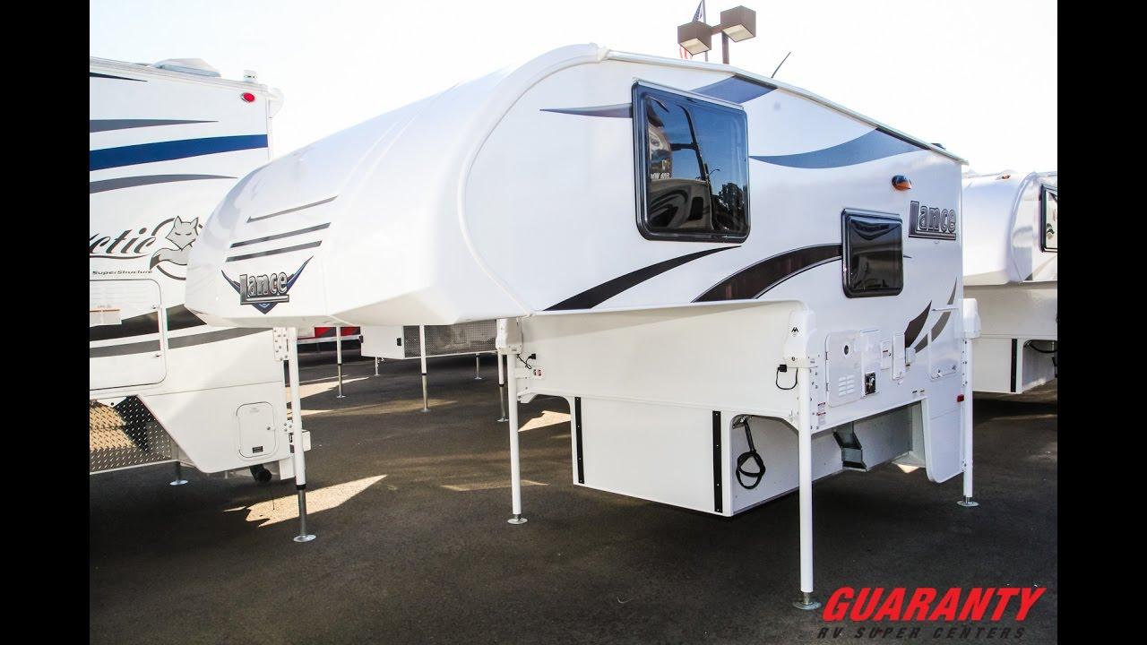 2017 Lance 650 Truck Camper Video Tour • Guaranty com