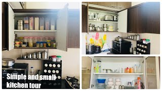 Kitchen tour with organization tip in tamil\organise small kitchen/design small modular kitchen idea