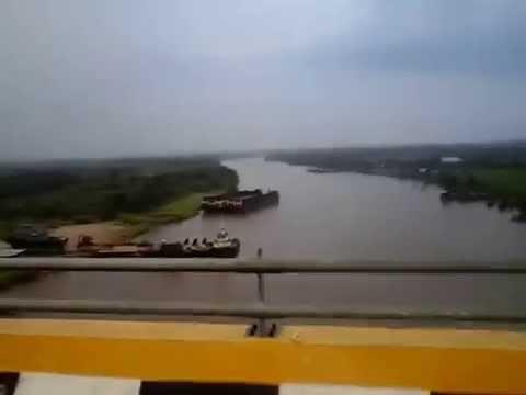 Tourism in Maredan River Siak Indrapura Riau