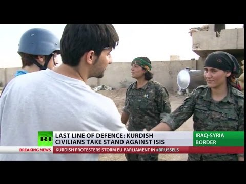 ISIS Fighters fear Hell frm Kurdish Women Forces