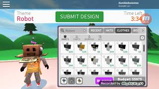 Design it Roblox challenge