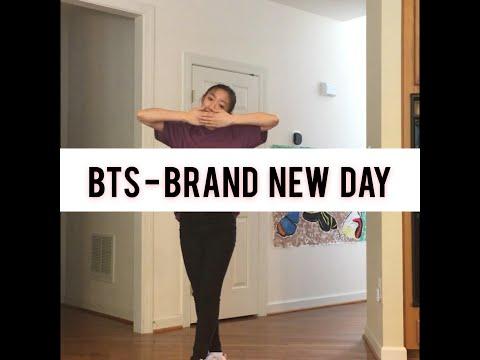 [CHOREOGRAPHY] BTS - A Brand New Day Ft. Zara Larsson DANCE COVER | Rinajin