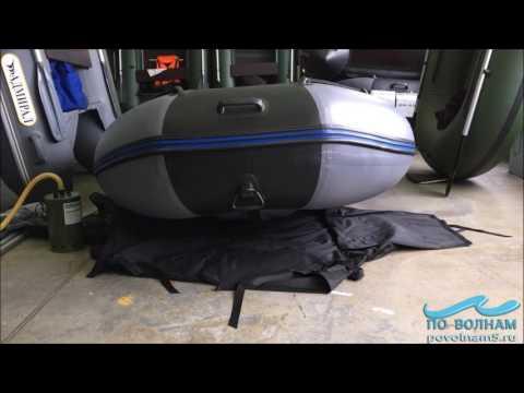 Сборка лодки Профмарин 370 Air