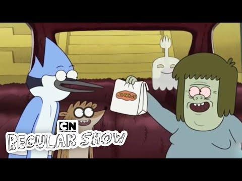 Robber Car Regular Show Cartoon Network