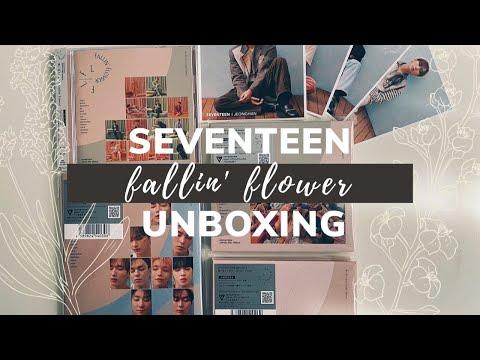 ミ☆ Unboxing: SEVENTEEN セブンティーン -  2nd Japanese Single Fallin' Flower (Regular & Limited A, B & C)