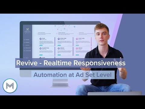 3.4 Revive - Realtime Responsiveness <br> Full Tutorial Ad Set Level