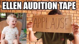 Our ELLEN tv show audition