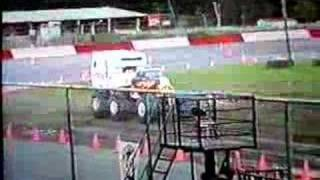 California Kid Trailer Jump. Eureka, Cal Monster Trucks 1997