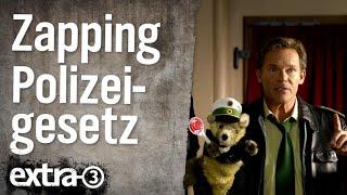 Zapping: Fernsehen nach dem neuen Polizeiaufgabengesetz