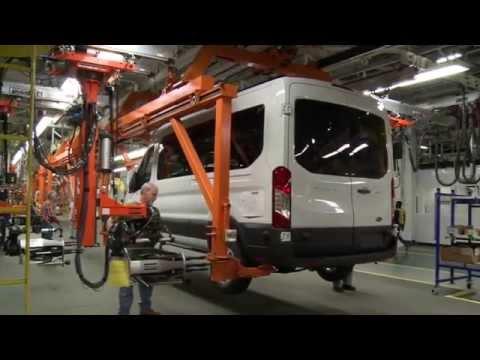 Ford Transit at Kansas City Assembly Plant   AutoMotoTV