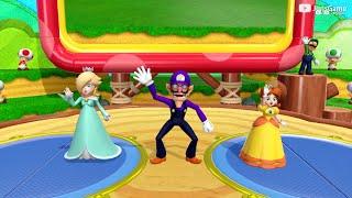 Super Mario Party - MiniGames – Daisy vs Rosalina vs Waluigi vs Luigi