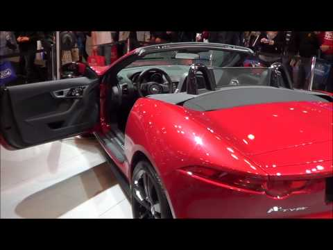 New York Auto Show 2013: 2014 Jaguar F-type Roadster