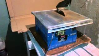 Обзор. Плиткорез электрический (2)(Краткий видео обзор электрического плиткореза