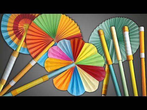 Magic Hand Fan | Magic Paper Fan | How To Make Magic Hand Fan Or Paper Fan | DIY Hand Fan