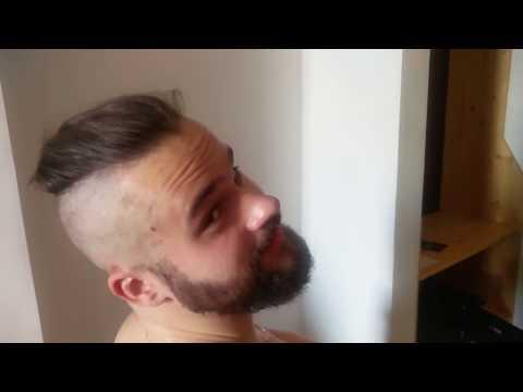 Стильная мужская стрижка , viking style,  male haircut, Ragnar Lodbrok