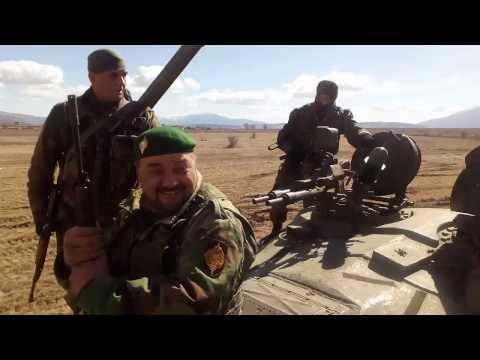 """Livno - snimanje filma """"General"""" vožnja tenkovima"""