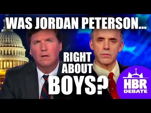 Is Jordan Peterson right about boys? Tucker's Fox News Tonig