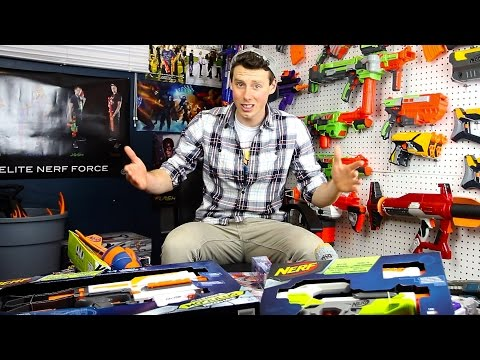 Unboxing NERF Gun Game 3.0 | (Recon, Zeus, StrongArm, CycloneShock, SlingFire, Stryfe)
