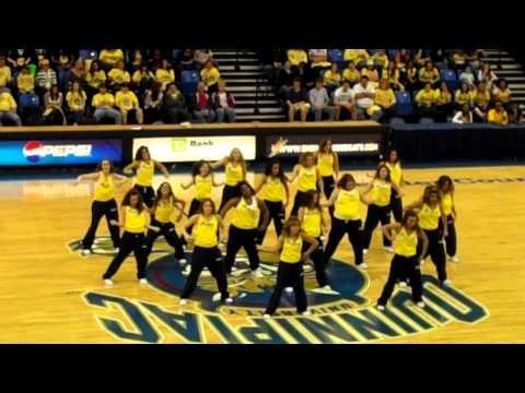 Quinnipiac University's Dance Fusion at Midnight Madness 2011!