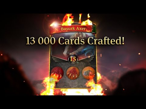 13 000 Unique Cards in Earthcore - Community Trailer