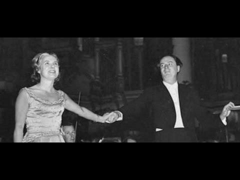 Elsie Morison on Rafael Kubelik!