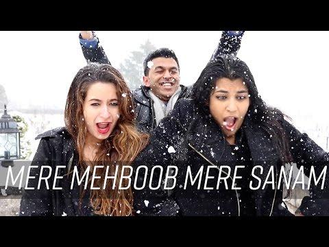 Mere Mehboob Mere Sanam | Rohit Gijare (ft. Aaliya & Shivani) | Duplicate