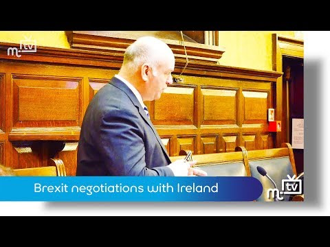 Brexit negotiations with Ireland