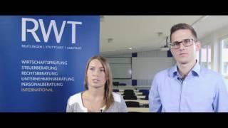 Duales Studium Steuern & Prüfungswesen bei der RWT