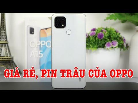 Mở hộp OPPO A15 Điện thoại giá rẻ Pin trâu cuối cùng của OPPO trong năm nay